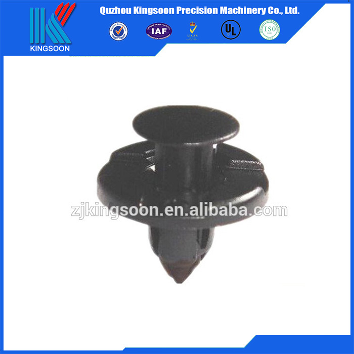 Non-standard plastic_fastener clip with plastic or rubber injection mold and parts design for car