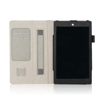 Multifunctional Case for New Kindle Fire HD 8 (2015 Model)-Tablet Cover with Built in Stand, Hand Strap, & Stylus Holder