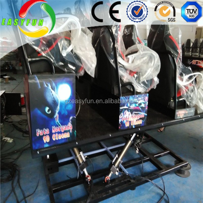 7D movie theater rider cinema with special effects system dynamic motion chair,simulator 7D cinema