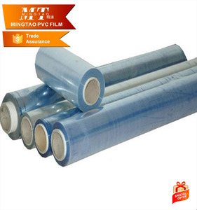 PVC Shrink Stretch Wrap Film/ PVC Plastic Film Rolls pvc film for wrap Factory price
