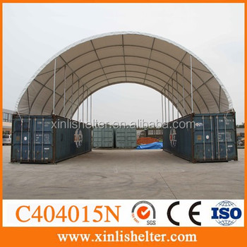 Container Canopy Portable Storage Dome Shelter