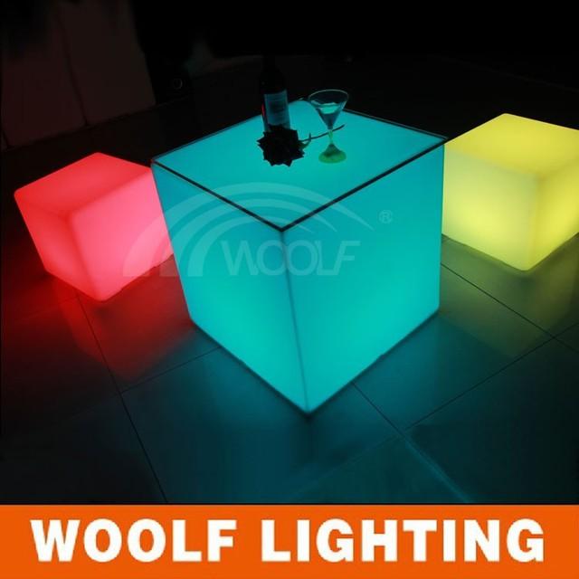 Plastic Led Cube Chair,LED Chair Light; Wonderful Chair LED Cube Light,magic