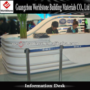 Information Desk Design wood display reception desk counter information desk design - buy
