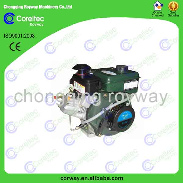 low noise 400cc diesel engine single cylinder