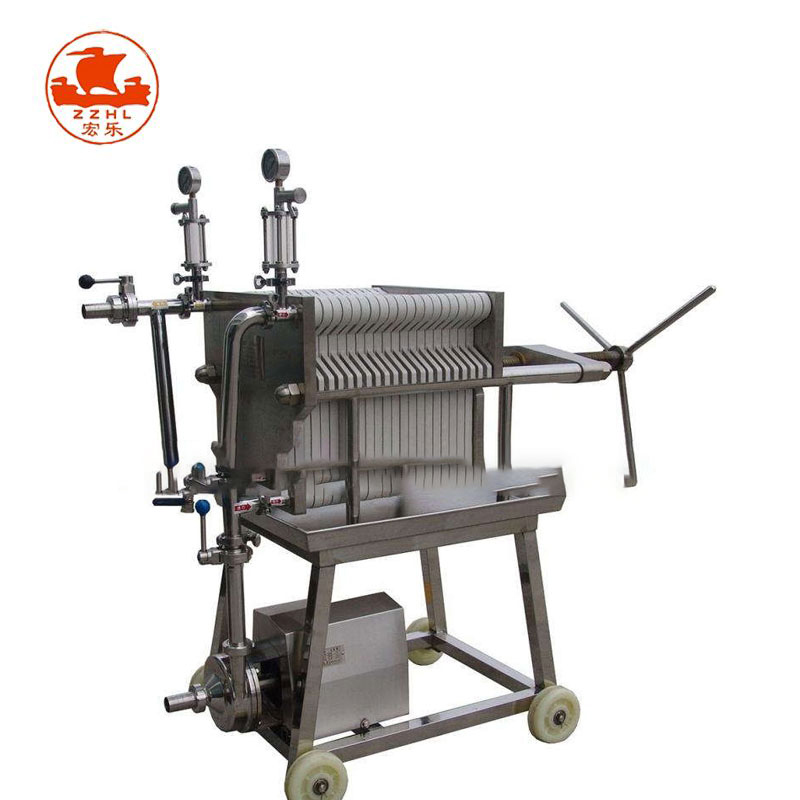 Small Coconut Oil Extraction Filter Cleaning Machinery Deep Fryer Cooking Nirmal Peanut Oil Filter Machine