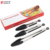 18T3 Amazon Hot Sale 7 9 12 Inch Kitchen Accessories Stainless Steel Frame Silicone Cooking BBQ Barbecue Tongs