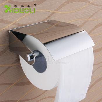 Stainless steel toilet roll paper holder