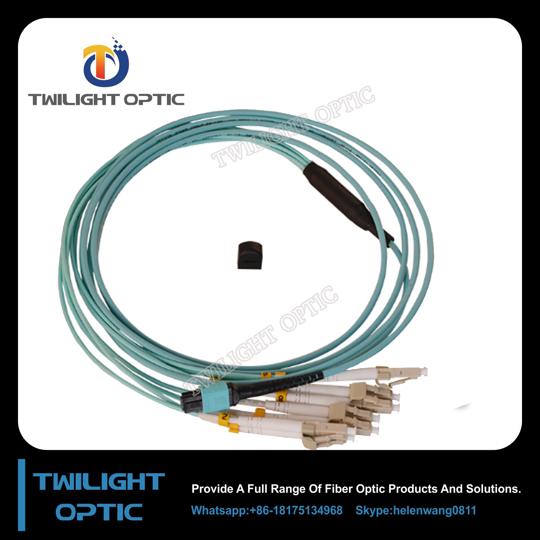 20m Mtp Mpo Patch Cord Suppliers And Plenum Fiber Optic Cable 40 Gigabit Ethernet Qsfp 40gbasesr4 To Manufacturers At