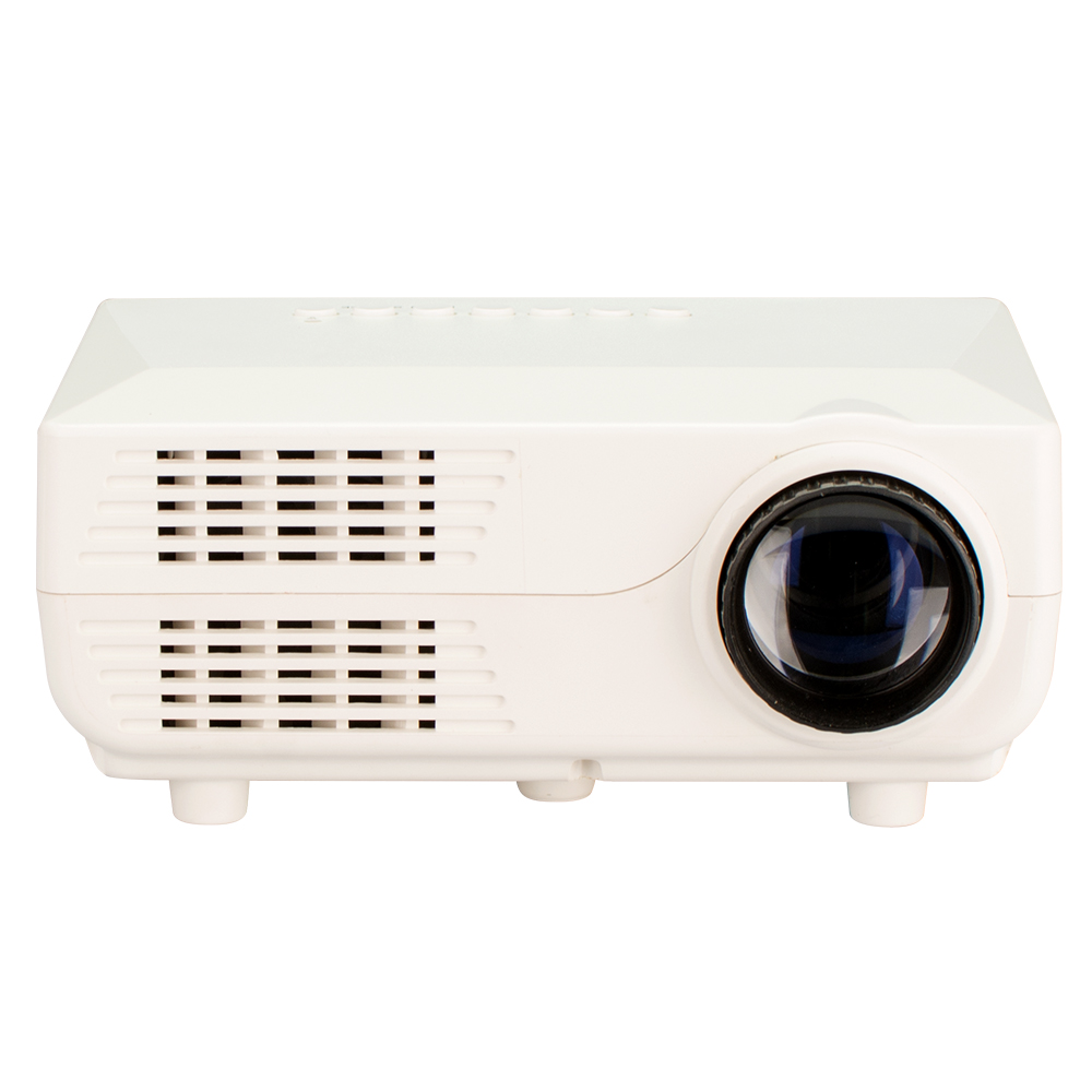 Factory in China mini led projector with USB 2.0 and 500 Lumens projector lamp
