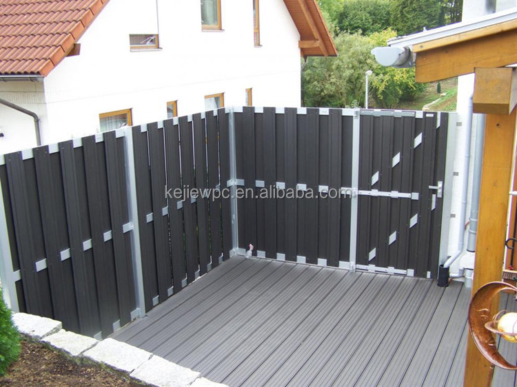 Water Proof Easy Installation Outdoor Use Garden Fence Wood