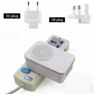 2019 new arrivals 3 usb Ports US Plug adapter wall charger with speaker Charging while listen to music for mobile phone