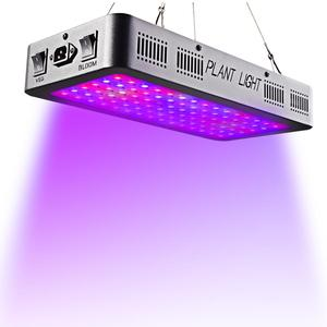 Double Switch Bloom/VEG 900W LED Plant Grow Light,Full Spectrum 600W Plant Light for Indoor Plants Growing- 600W(10W Leds 60Pcs)