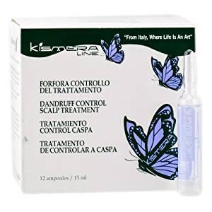 Kismera Dandruff Control Scalp Treatment - 12 Vials x 0.5 oz