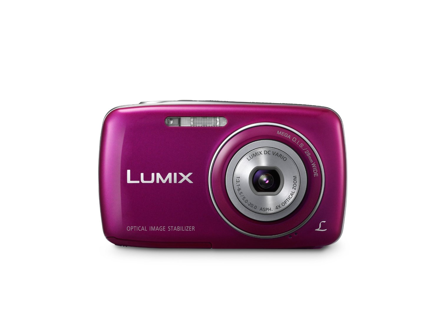 Panasonic Lumix DMC-S3 14.1 MP Digital Camera with 4x Optical Image Stabilized Zoom with 2.7-Inch LCD (Violet)