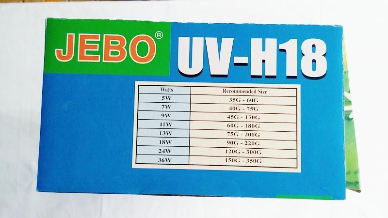 ₪jebo 5w 9w ⊰ 11w 11w 18w 36w Uv Ultraviolet N 186 Sterilizer