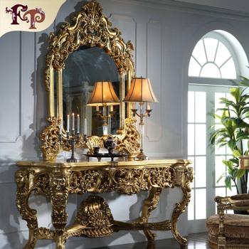 cdfaeeb50f016 Antique Hand carving leaf gilding furniture gold leaf bedroom furniture