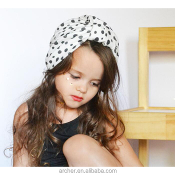 c83300ef1c6 Baby Turban Hat Cotton Hat Baby Girls India Pattern Knitted Hats ...