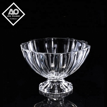 Whole Crystal Clear Footed Gl Bowl From Ao Glware Pedestal Decorative Bowls Product On