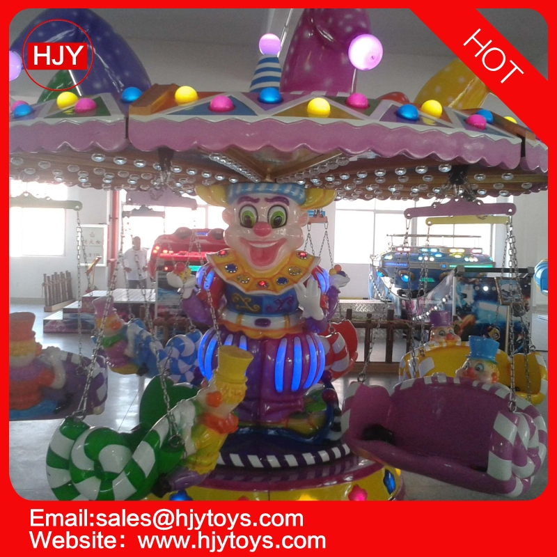 2019 Hot Shopping Mall Amusement Equipment 6 Seats Carousel Merry Go Round