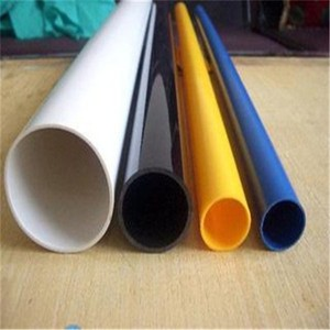 Black Colored 14mm 16mm 3/4 inch PVC Plastic Pipe