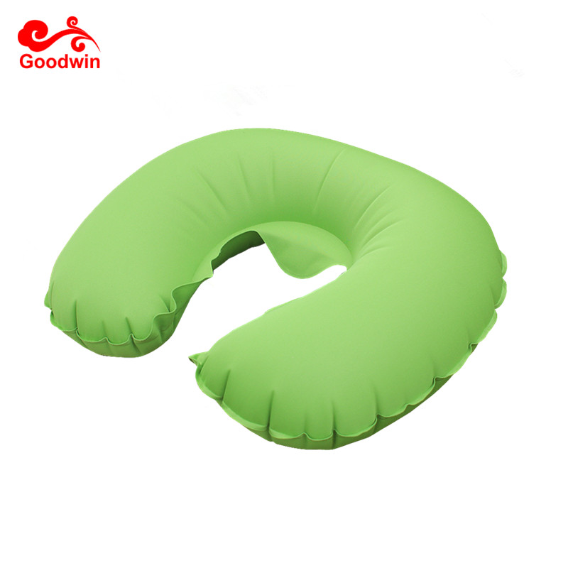 Inflatable Neck Pillow-Inflatable Travel Pillow Air Cushion Neck Rest U-Shaped Compact Plane Flight