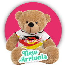 2016 European Footbal Wear T-shirt 23cm Teddy Bear Plush Toy