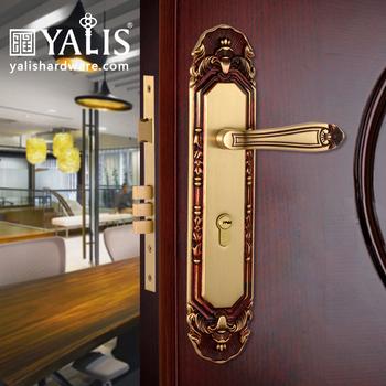 Front Door Lock Sets With Modern Br Handles In Mortice Locks