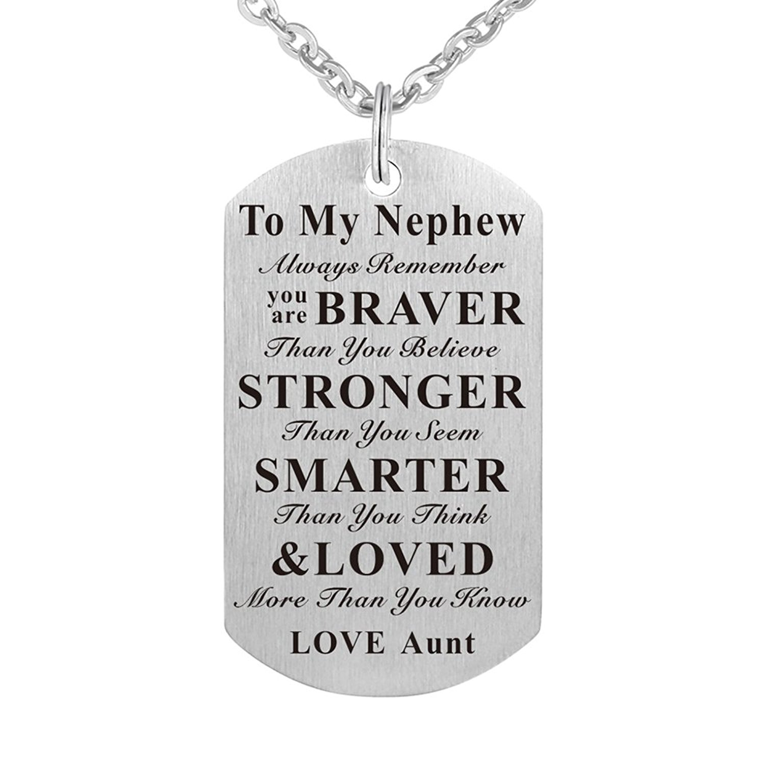 NEWME Sister Charms Pendant Metal Chain Necklace For Grandma Handmade Jewelry Kraftpaper Box Gifts