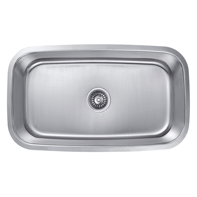 Cheap Price Home Kitchen Deep Single Bowl SUS 304 Sink