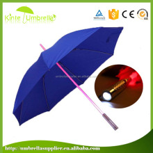 "Anti uv manual open 23"" 8k led light lighted umbrella"