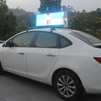 Advertising Car Top Taxi Led Display Testing By Electronic Nissan Leaf -  Buy Taxi Led Display,Electronic Taxi Led Display,Taxi Led Display Equipment
