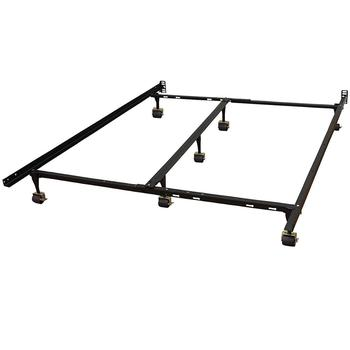 6 Leg Heavy Duty Full Full Xl Twin Twin Xl Bed Frame With Rug