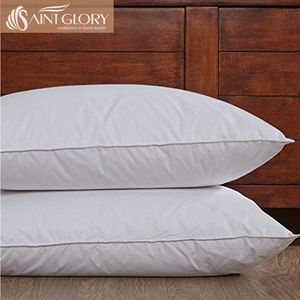 Premium Wholesale Head Luxury 90% White Goose Duck Down Pillows Ultra Soft Down Pillow Inserts for sleeping