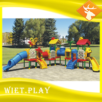 WIET Backyard lowes playground equipment swing set with great price