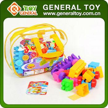 unids gran bloques de juguete de plstico para nios juguetes para nios
