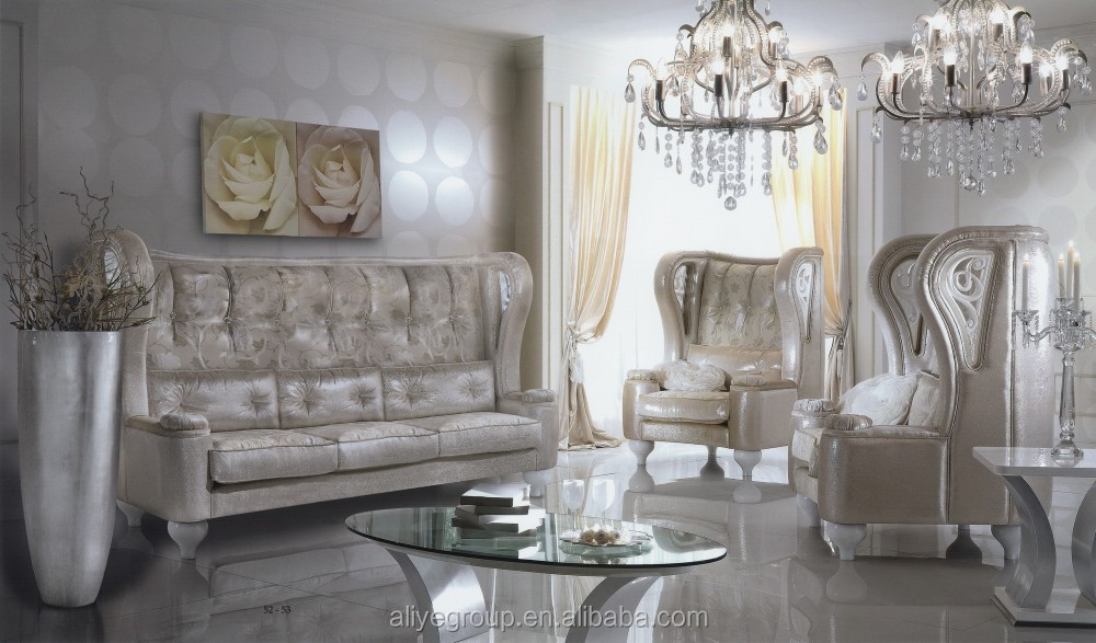 Be11103b Italian Style Sofa Furniture High Back Sets Luxury Clical Living Room