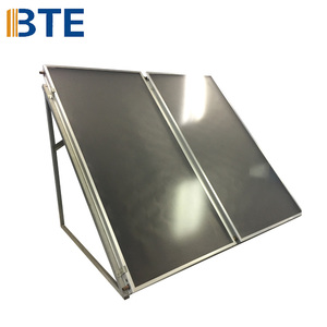 New type economic price flat solar collector with black chrome coating
