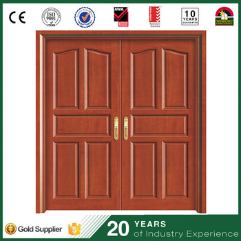 Incroyable Interior Solid Wood Two Leaves Door Double Leaf Wooden Entry Door