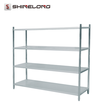 S286 4 Layers Stainless Steel Kitchen Wall Shelf