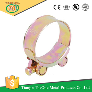 high pressure two side european tube clips jubilee clip manufacturer