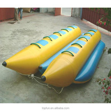 Double Row 8 Person Inflatable Banana Boat