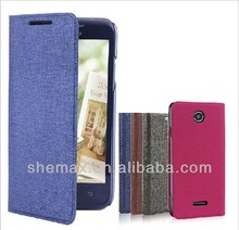 Shemax Legend Series Leather Case with Card Slot for HTC Desire 501
