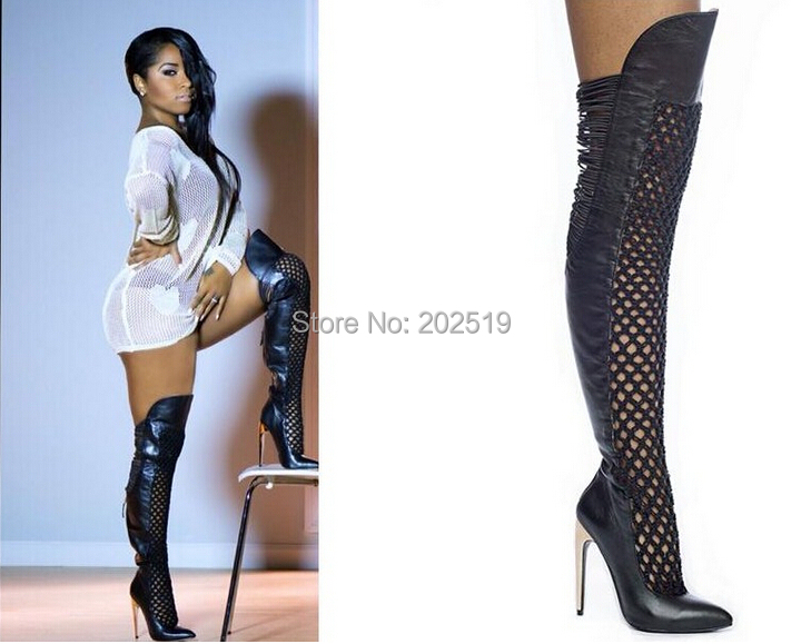 Sexy over the knee boot