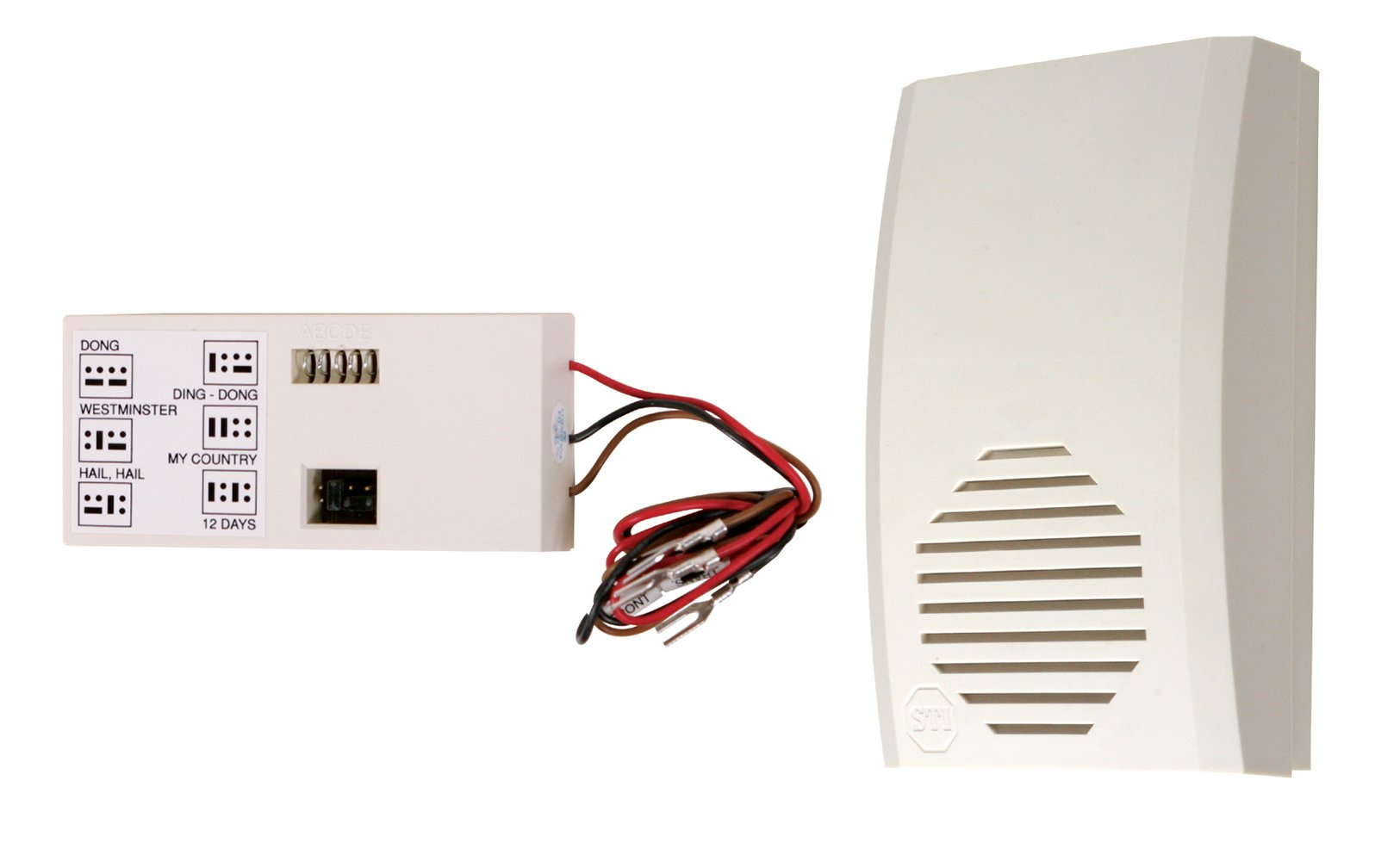 Safety Technology International STI-32000 Wireless Doorbell Extender, Extends Existing Doorbell to Hard-to-Hear Locations