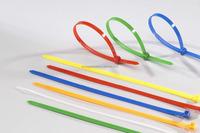 Electric Wire Plastic Custom Cable Holder Locks Nylon Head Tie Plastic Zip Tie