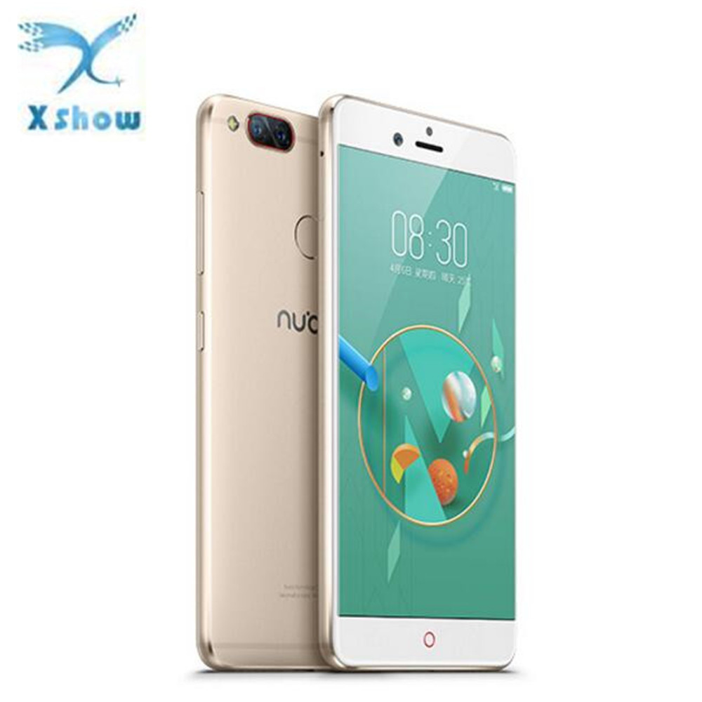 "Global Version Nubia Z17 Mini Mobile <strong>phone</strong> 5.2"" 4GB 64GB MSM8976 652 Octa Core Dual Back Camera Fingerprint 1920*1080 FHD"