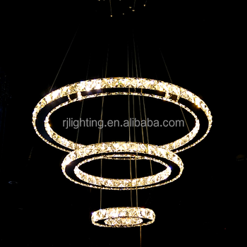 China wholsale color changing wireless remote control led circular china wholsale color changing wireless remote control led circular lamp modern crystal chandelier lighting for home aloadofball Image collections