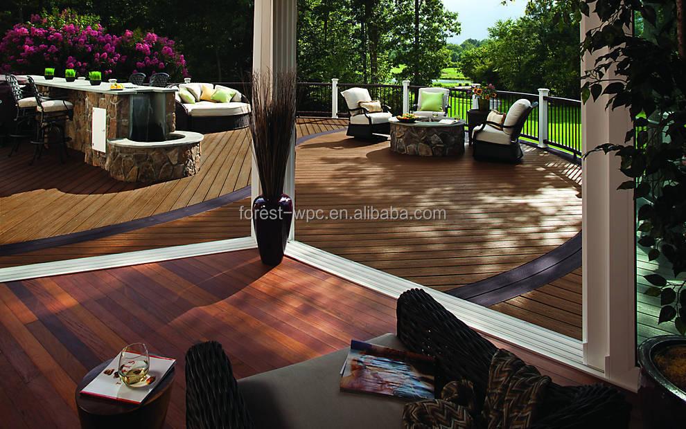 Terrasse Vintage : 100x25mm Ceramic Tiles Outdoor Deck Grey Wood Floor