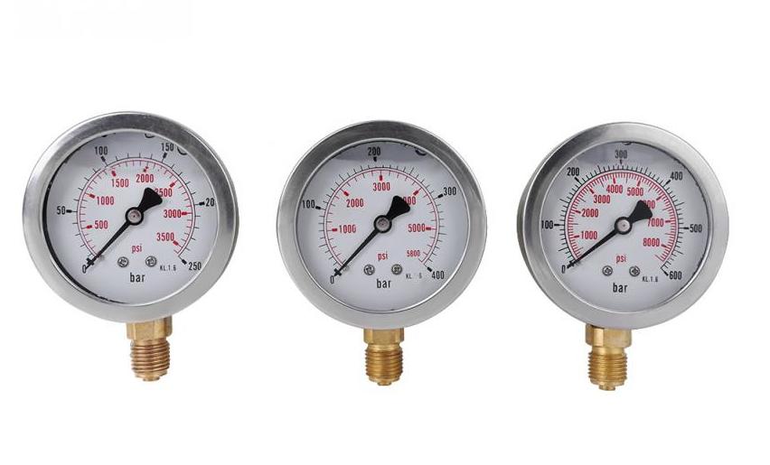 Cụ phổ quát thử nghiệm máy xúc phụ tùng hyudraulic bơm áp lực thử nghiệm đo, thủy lực máy đo áp suất