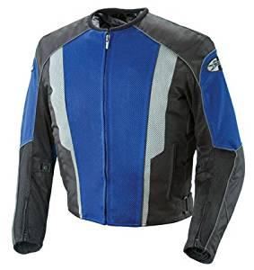 Joe Rocket Phoenix 5.0 Mesh Motorcycle Jacket Blue/Black